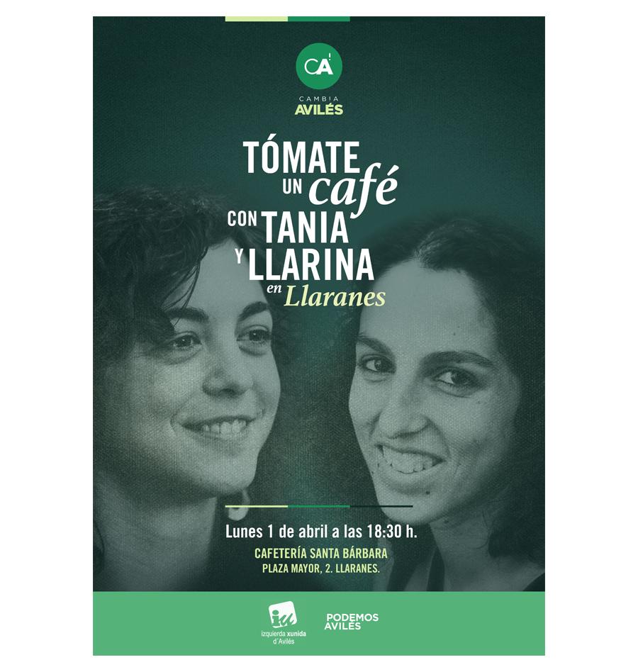 Café con Tania y Llarina