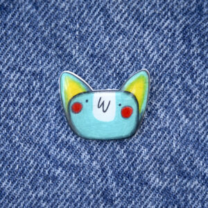 PIn Zorrini azul